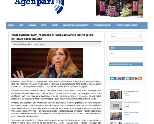 Agenzia Parlamentare